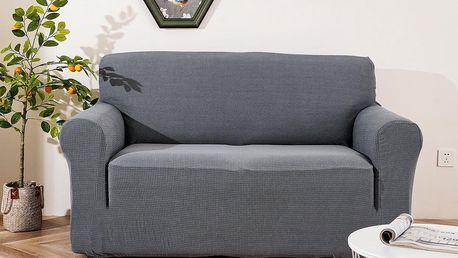 4Home Napínací voděodolný potah na sedačku Magic clean světle šedá, 190 - 230 cm