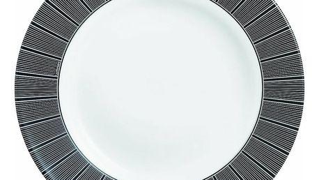 Luminarc Sada hlubokých talířů ASTRE NOIR 22 cm, 6 ks