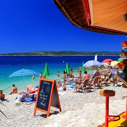 Chorvatsko - Baška Voda autobusem na 10 dnů