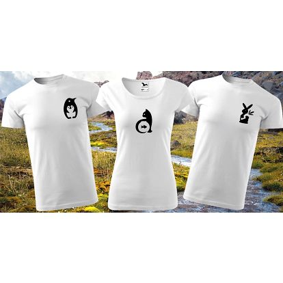 Česká bavlněná trička pro milovníky zvířat