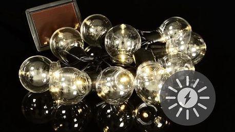 Nexos 55820 LED solární světelný řetěz s 10 žárovkami