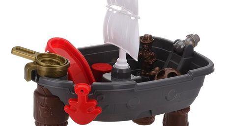 Dětský hrací set Pirate ship, 13 ks