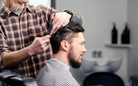 Pánský střih, holení a další péče v centru Prahy