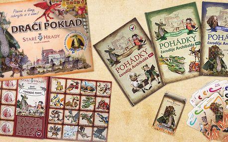Pohádkové knížky, hry i obří pexesa Staré Hrady