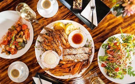 Degustační menu z rybích specialit i s dezertem pro dva