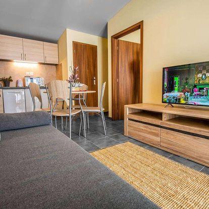 Rodinné apartmány Sojka resortu na Liptově pro 4 osoby