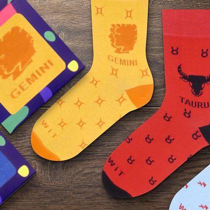 Pohodlné ponožky se znamením zvěrokruhu