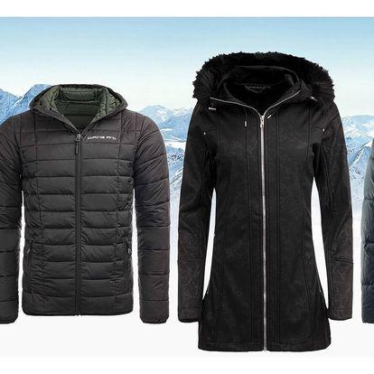 Dámské kabáty a pánské bundy Alpine Pro
