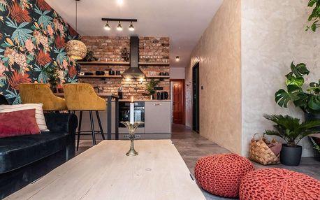 Exotické apartmány v Rajec. Teplicích, možnost vířivky