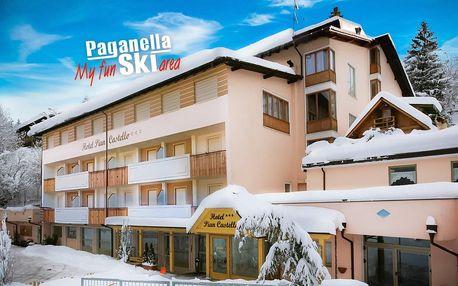 Hotel Piancastello*** | Paganella se skipasem | Dítě do 6,99 let zdarma | 3–7 nocí s polopenzí