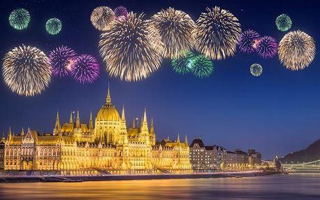Silvestr Budapešť | 3denní zájezd | Hotel*** | Doprava, ubytování, průvodce