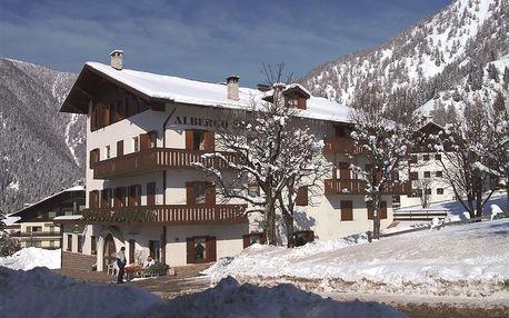 Falcade | Hotel Stella Alpina*** | Dvě děti zdarma | Sleva na skipas | 3–7 nocí s polopenzí | Vlastní doprava