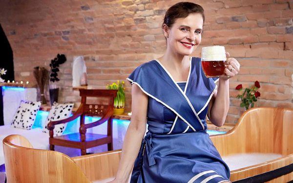 Rožnovské pivní lázně: noc s procedurami a jídlem
