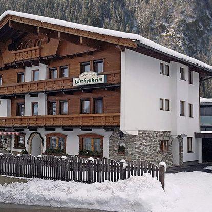 Rakousko - Zillertal na 4-14 dnů, snídaně v ceně