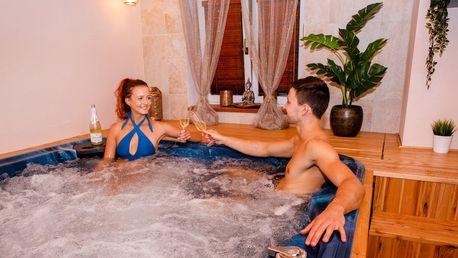 Privátní wellness s vířivkou a saunou: 1–2,5 h.