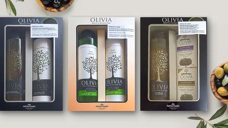 Luxusní dárkové sety přírodní kosmetiky Olivia