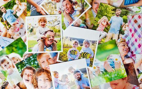 Tisk 20 fotografií ve formátech retro a instafoto