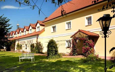 Třeboňsko: penzion Dvorce