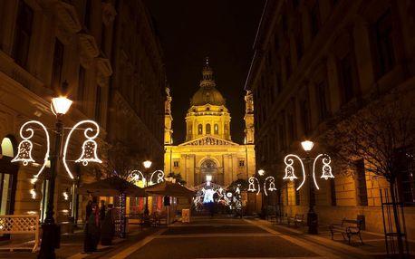 Maďarsko - Budapešť autobusem na 1 den, strava dle programu