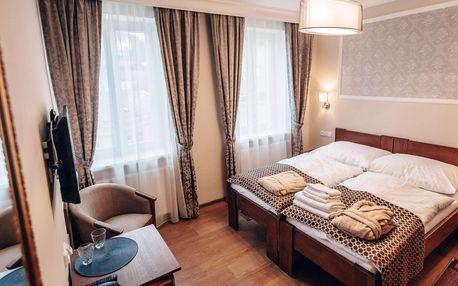 Relaxační pobyt v hotelu Star**** v centru Karlových Varů se snídaní či polopenzí