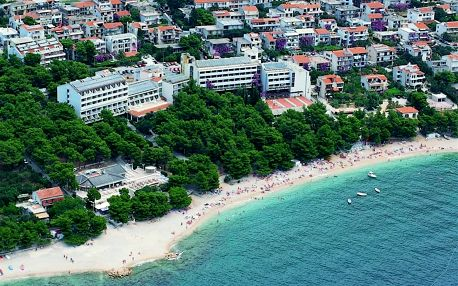 Chorvatsko - Makarska na 15 dnů, polopenze