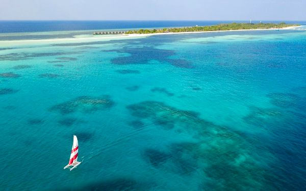 Kuredu Island Resort, Lhaviyani Atol, letecky, plná penze4