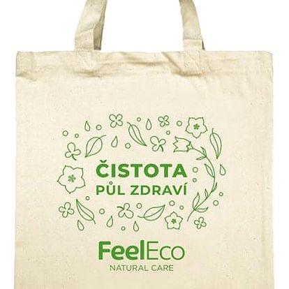 Feel Eco taška plátěná malá Čistota půl zdraví