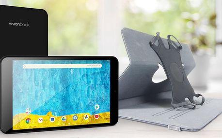 """Tablet UMAX s úhlopříčkou 8"""" a pouzdro"""