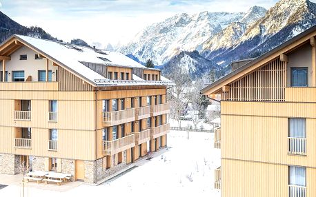 Hinterstoder: Alprima Aparthotel, až pro 8 osob a wellness