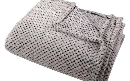 Bo-ma Trading Deka Aimy šedá, 150 x 200 cm