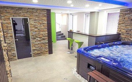 Jižní Čechy u CHKO Třeboňsko: Wellness pobyt v Hotelu Lucia *** s vířivkou, saunou, masáží, vínem a snídaněmi