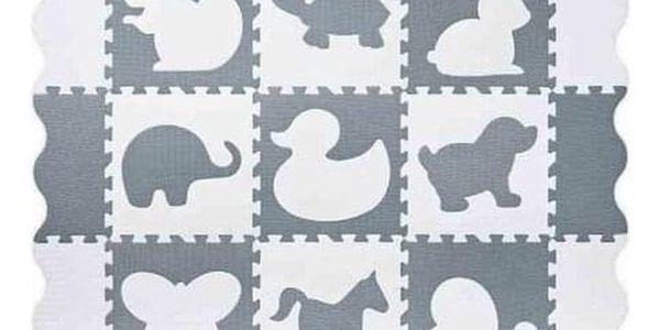 Plastica Pěnové puzzle Ohrádka, 34 dílů, 121 x 121 cm3