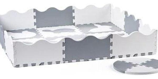 Plastica Pěnové puzzle Ohrádka, 34 dílů, 121 x 121 cm