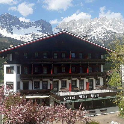 Rakousko - Brixental na 7-10 dnů, snídaně v ceně