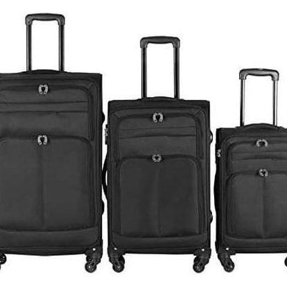 Vojagor 74763 Sada cestovních kufrů na kolečkách, 3 ks