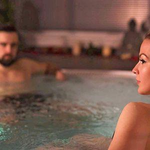 Romantika pro dva: privátní vířivka i možnost sauny