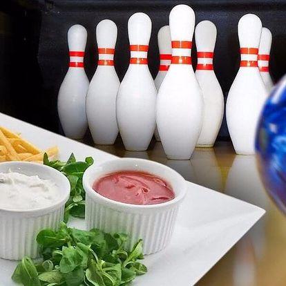 1 či 2 hod. bowlingu a kilo hranolků až pro 6 osob