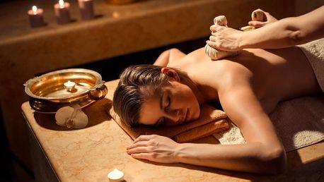 Aromaterapeutická, kokosová nebo antistresová masáž
