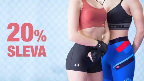 20% sleva na sportovní módu značky Under Armour