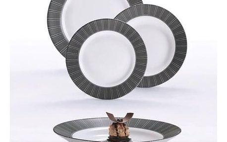 Luminarc 18dílná jídelní sada ASTRE NOIR