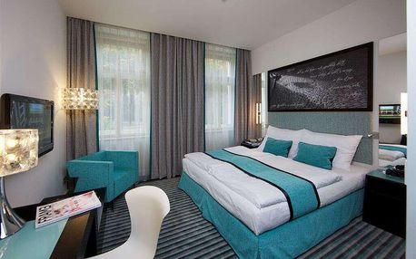Hotel Red & Blue nedaleko centra Prahy se snídaní
