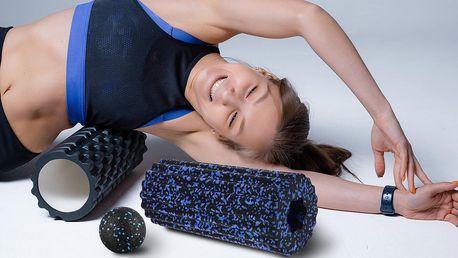 Podložky na jógu, masážní koule a foam roller