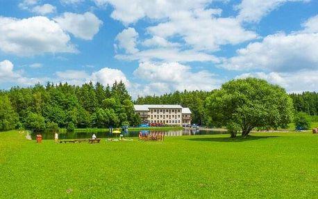Rodinný pobyt v klidném prostředí Vysočiny v Hotelu Renospond s polopenzí + dítě do 12 let zdarma