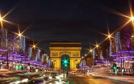 Adventní Paříž letecky: 3 noci v hotelu i průvodce