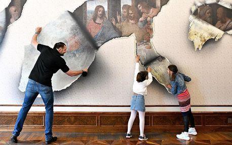 Vstup do zábavného Muzea iluzivního umění v Praze
