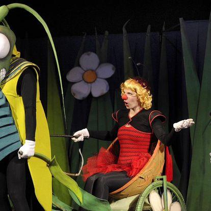 Vstupenka na představení Ferda Mravenec