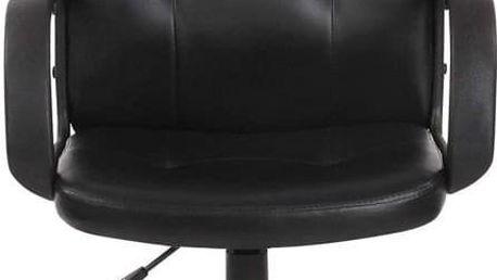 Jago Kancelářská židle s loketní opěrkou, černá