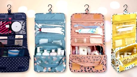Voděodolný cestovní organizér na hygienu: 12 vzorů
