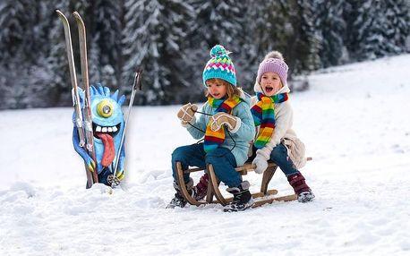 Parádní lyžovačka v Harrachově s příšerkami, bufetová polopenze, bazén a Harrachov Card