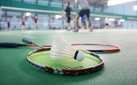 Hodina sportování: badminton či multifunkční hřiště